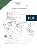 Examen Bimestral Geografia Bloque 1