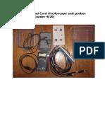 0 to 500v Sound Card Osciloscope