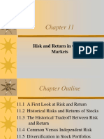Chapter 11 Risk and Return