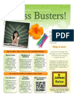 fall 2016 stress busters workshops