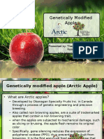 Genetically Modified Apple (Arctic Apple)