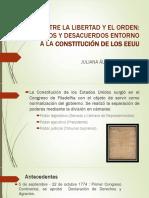 Unidad 4 Constitucion de EEUU - Juliana Álvarez
