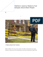 5 Misleading Statistics Used by Media to Fuel Negative Stereotypes About Black People