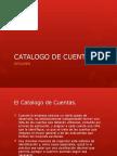 CATALOGOS DE CUENTAS DE CONTABILIDAD