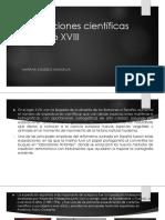 Unidad 3 Expediciones Científicas Del Siglo XVIII - Mariana Agudelo Monsalve