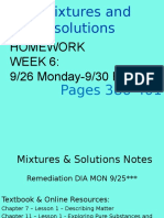 week 7 element compound mixtures   solutions notes