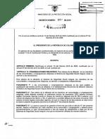 Decreto 692 de 2010