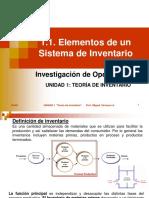 AU11 Elementos de Un Sistema de Inventarios