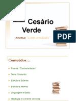 Contrariedades - Cesário Verde