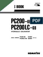Catalago Parts Book - PC200