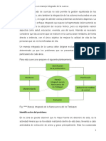 propuestas para un manejo integrado de la cuenca