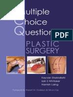 MCQs in Plastic Surgery