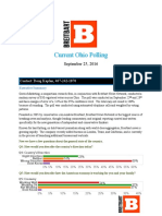 Ohio Breitbart Gravis Poll Sept 25