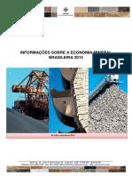 Informações Sobre a Economia Mineral