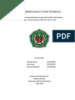 Audit Internal Fix