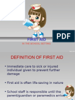 First Aid - NSTP