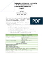 Taller I-Auditoria Ambiental