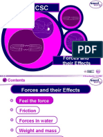 1. Forces and Their Effects