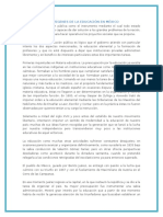 Los Orígenes de La Educación en México (1)