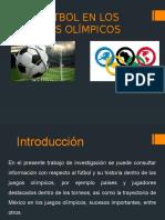 El Fútbol en Los Juegos Olímpicos