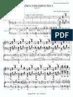 Tchak PIano Concerto No. 1