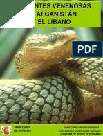 Serpientes Venenosas de Afganistán y El Líbano