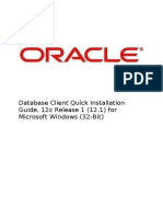 Oracle Database client quick installation