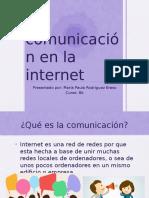 comunicacion e internet