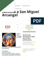 Novena a San Miguel Arcangel » Foros de la Virgen María.pdf