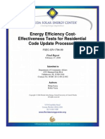 Energy Efficiency Cost Effectivness Test