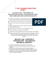 BIOL 1407 Lecture - Ch. 25, 26, 27 28 Objectives and Notes Exam 2 F2015 (1)