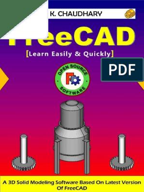 FreeCAD | Perpendicular | Circle
