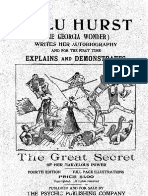 Lulu Hurst Explains and Demonstrates the Great Secret