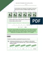 Guías Multiplicaciones 3ºA