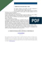 Fisco e Diritto - Corte Di Cassazione Ordinanza n 10675 2010