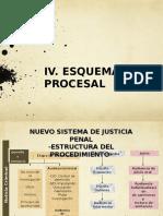 IV Esquema Procesal