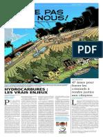 Cahier Spécial Transport Hydrocarbures - Prospérité Sans Pétrole - Mouton Noir