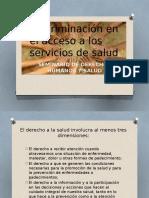 Discriminación en El Acceso a Los Servicios De