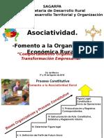 Ponencia Asociatividad-fomento Organizativo 17y18 Agosto 2016pptx