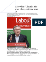 Brendan Howlin is a Two Face Lying Prick Cont