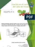 Automatización en El Corte de Caliz de Las Fresas