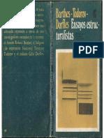Barthes; Todorov; Dorfles - Selección. Ensayos Estructuralistas, C.E.a.L., 1971