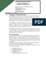 Concepto y tipos de contabilidad