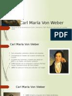 Ensayo Carl María Von Weber