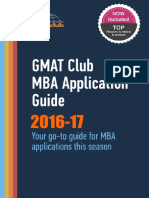 GMAT Club Mba Guide 2016-17
