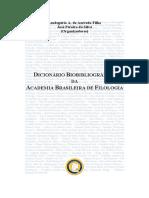 diicionário filologia