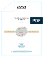 What Causes Packet Loss in IP Networks  DVEO DOZER White Paper (Article)