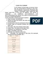 Class File Format