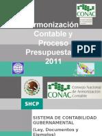 Armonizacion Contable y Proceso Presu 2011.pptx