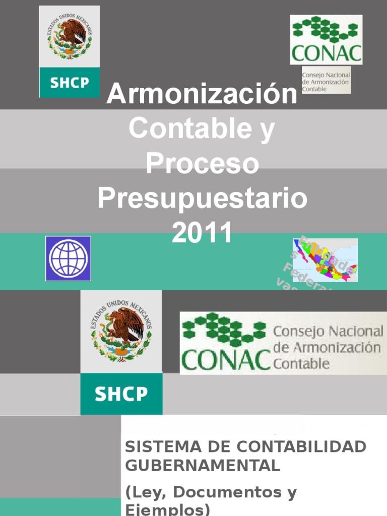 Armonizacion Contable Y Proceso Presu 2011 Pptx